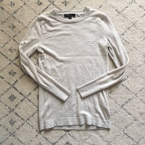 EUC banana republic merino wool sweater XS oatmeal